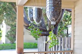 How To Make Planters by Small Space Gardening How To Make Inverted Hanging Tomato