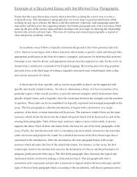 Introduction To Essay Example Example Of A Persuasive Essay
