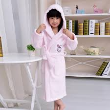 Toddler Terry Cloth Robe Hooded Terry Towel Bathrobe For Kids Rainbow Towel Kids
