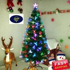 buy latest seansean 6ft fiber optic christmas tree price in