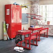 Red Kids Desk by Desk Ideas For Kids Rooms