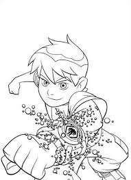 ben 10 free printable coloring pages no 29 places to visit