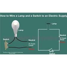 wiring diagram how to wire a l and switch an electric supply