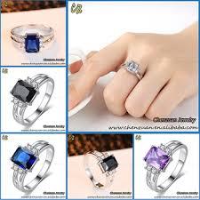 black finger rings images 2018 different types blue black white purple red color zircon jpg