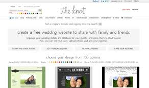knot wedding website things we the knot free wedding website the gardens at