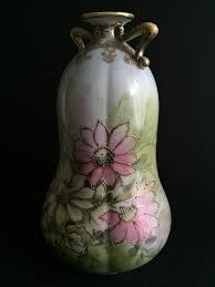 Antique Hand Painted Vases Antique Nippon