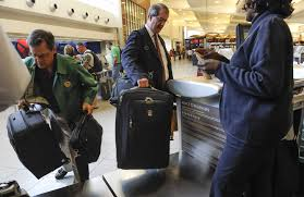 united check in luggage airlines promise a return to civility for a fee tbo com