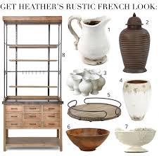 heather bullard u0027s french country display cabinet
