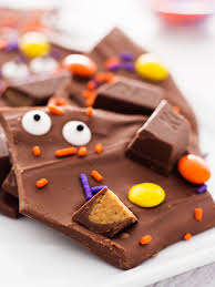 scary halloween candy bowl halloween candy bark if you give a blonde a kitchen