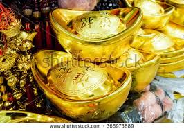 new year gold coins gold money decorations antic stock photo 366973889
