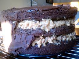 one serious german chocolate cake