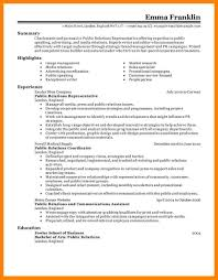 Public Relations Resume Template 11 Public Relations Resume Sample Apgar Score Chart