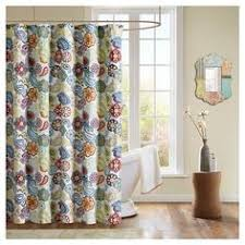 Target Paisley Shower Curtain - chelsea paisley print microfiber shower curtain orange