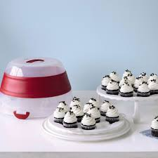 Martha Stewart Kitchen Canisters Martha Stewart Collection Collapsible Cupcake And Cake Carrier