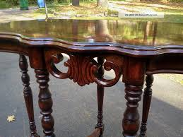 Antique Accent Table Inspirations Antique Entryway Table With Antique French Country