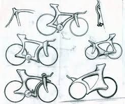 track bike sketches bicycle design