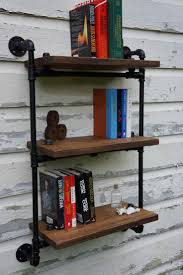 furniture industrial bookshelves awesome industrial bookshelves