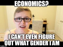 Economics Meme - image tagged in gender economics feel the bern imgflip