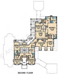 House Plans Courtyard by Bellerive Texas Style House Mansion House Plan