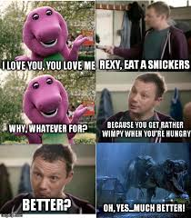 Eat A Snickers Meme - eat a snickers dinosaur not dumb osaur by menslady125 on deviantart