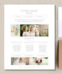 wedding album prices photographer price list pricing guide template marketing