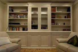 librerie bianche librerie in legno su misura librerie artigianali legnoeoltre