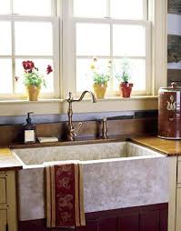 Country Kitchen Sink Ideas   country kitchen sink farmhouse sinks make a statement and add charm