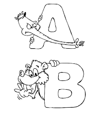 zoo alphabet coloring pages alphabet coloring pages