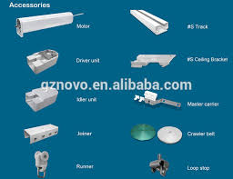 Drapery Rod Parts N08 Shower Curtain Rod Double Track Of Guangzhou Novo Factory