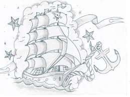 23 best pirate ship wall images on pinterest drawing draw and boats