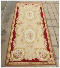 Chinese Aubusson Rugs Vintage French Aubusson Needlepoint Area Rug Home Decor Carpet