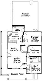 cottage style house plan 3 beds 2 5 baths 1086 sq ft plan 45