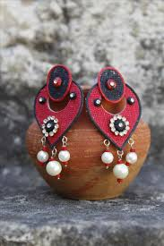 jute earrings jabweshop jute earrings