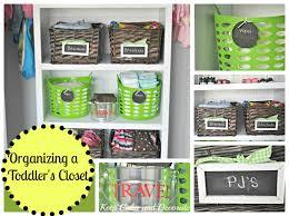 keep calm and decorate organizing a toddler u0027s closet