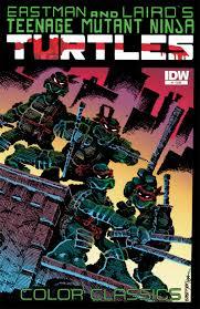 tmnt color classics 1 idw tmnt teenage mutant ninja