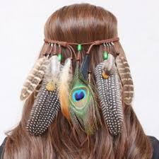 bohemian hair accessories feather hair accessories online india cheap wholesale online drop