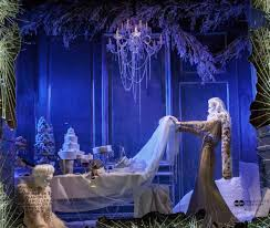 Frozen Christmas Light Show by New York Holiday Windows 2015 Byb A Visual Merchandising
