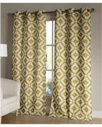 amazing deal on duck river textile mustard mckenna curtain panel