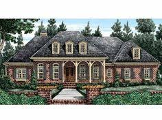 french country house plan with 3423 square feet and 4 bedrooms