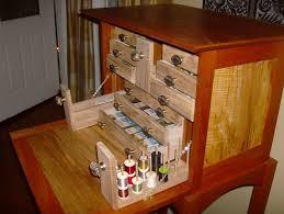 fly tying desk finished by leighty6 lumberjocks com