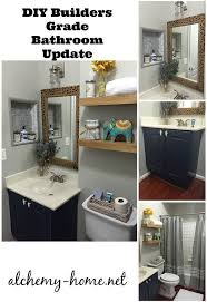 updating bathroom ideas easy diy builders grade bathroom updates hometalk
