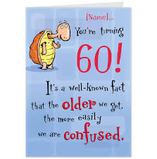 free printable funny 60th birthday cards personalized kids
