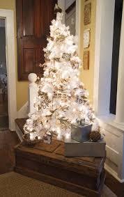 small white christmas tree white vintage christmas ideas for a dreamlike