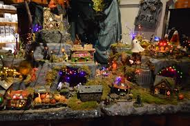 halloween village yankee candle village deerfield ma new england nomad