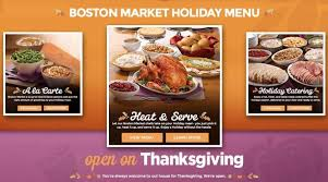 boston market thanksgiving menu 2015