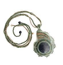 sarv tree macrame necklace