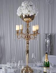 wedding candelabra 33 gold arm shiny metal candelabra chandelier votive candle