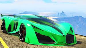 teal green car world u0027s fastest gta car ever gta 5 funny moments youtube