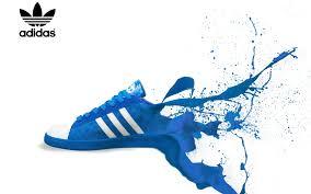 adidas shoe paint splash widescreen wallpaper wide wallpapers net