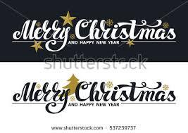 christmas banner set merry christmas vector stock vector 537239737